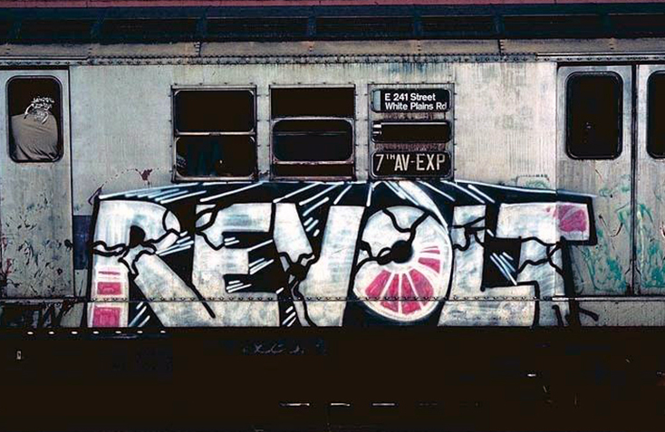 newyork subway graffiti legend revolt