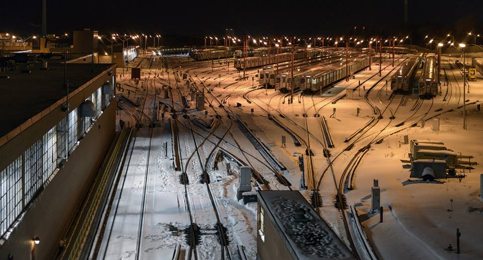 subway yard toronto