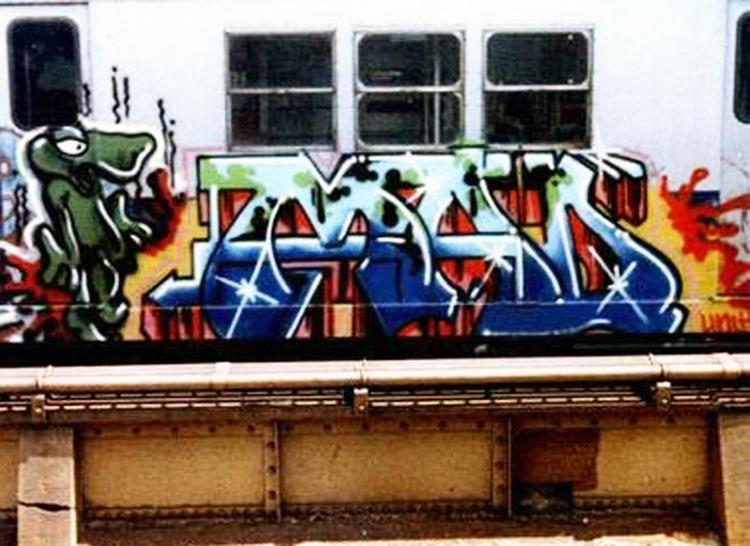 newyork subway graffiti mad seen bodè