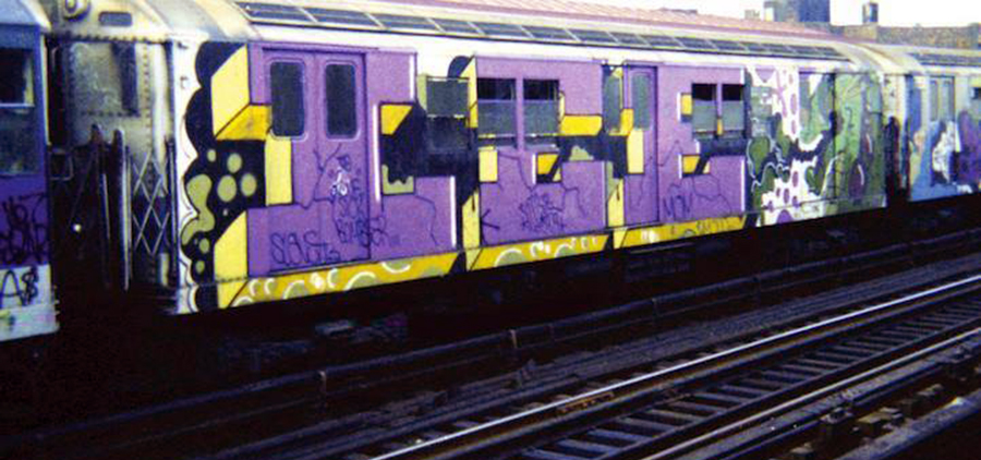 newyork subway graffiti legend lee wholecar