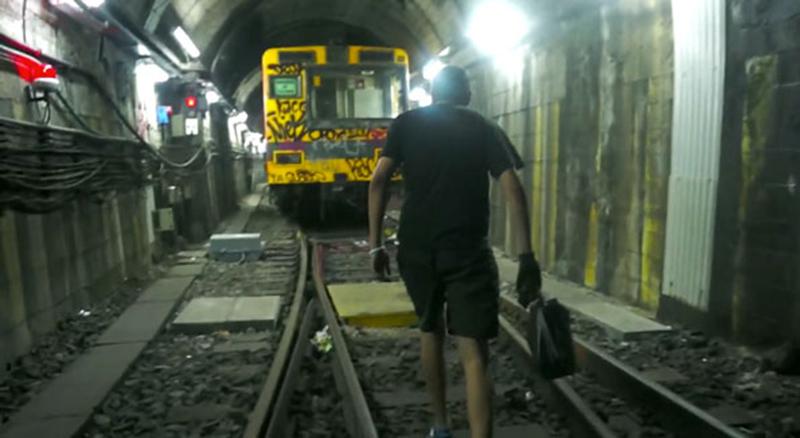 subte buenos aires subway graffiti 031 porno14 tunnel