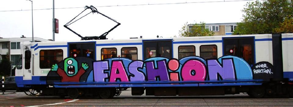 amsterdam subway graffiti running fashion over function