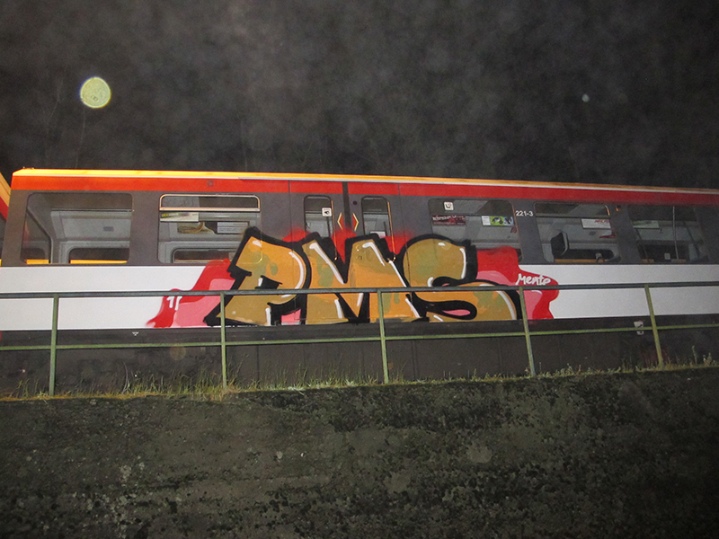 hamburg subway graffiti pms