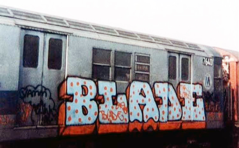 graffiti subway nyc legend blade newyork