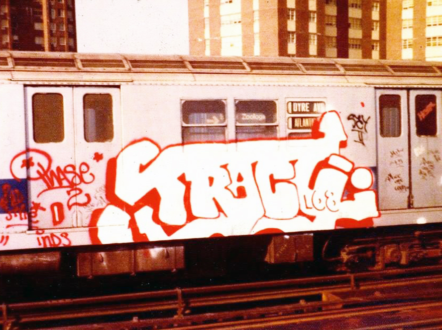 graffiti subway newyork nyc 70s legend tracy168