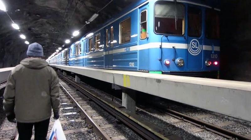 graffiti yard subway stockholm sweden tunnel