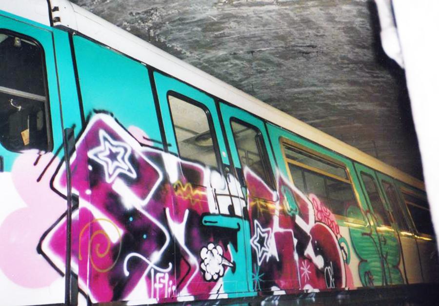 graffiti subway paris tunnel smole smolito tf1