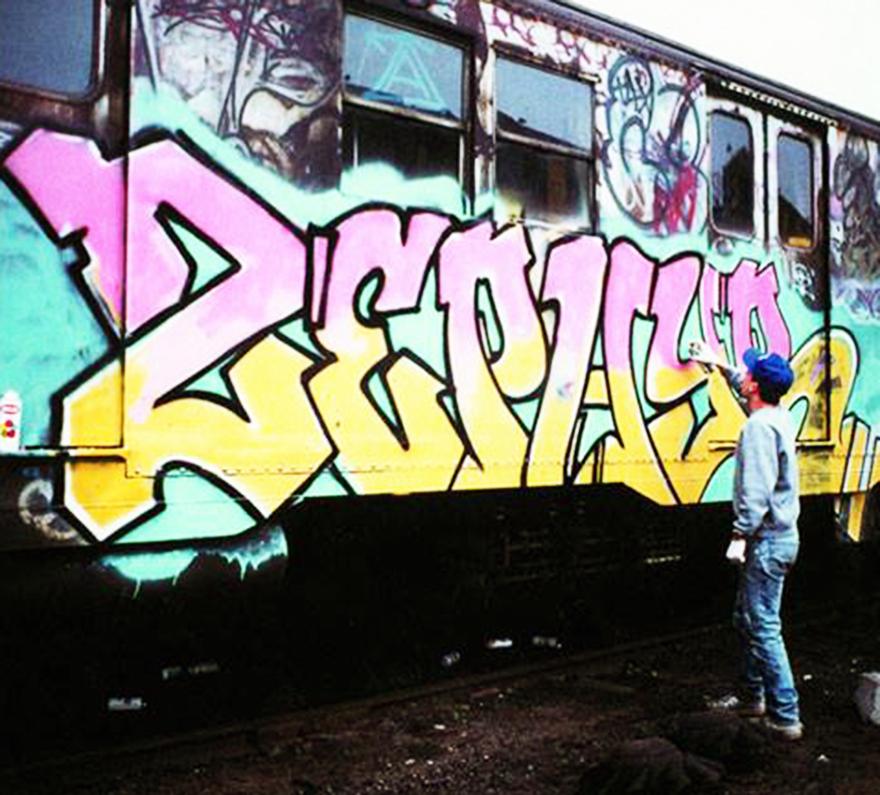 subway graffiti nyc newyork legend zephyr