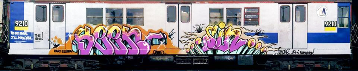 graffiti subway legend nyc newyork seen sin ua end2end