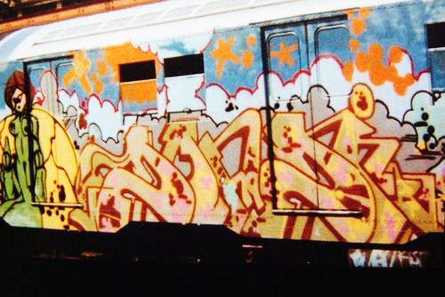 subway graffiti nyc newyork legend rip dondi