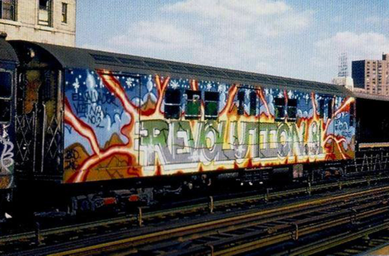graffiti subway nyc legend newyork weneedarevolution