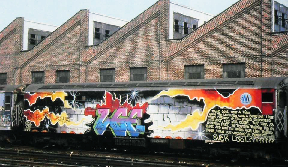 graffiti subway nyc legend newyork lee wholecar epic