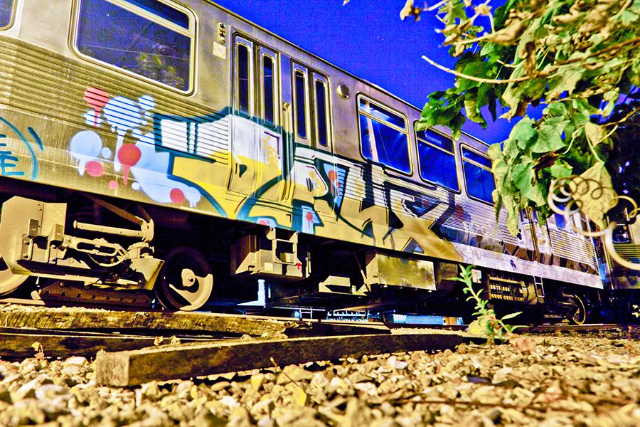 chicago graffiti subway yard drux