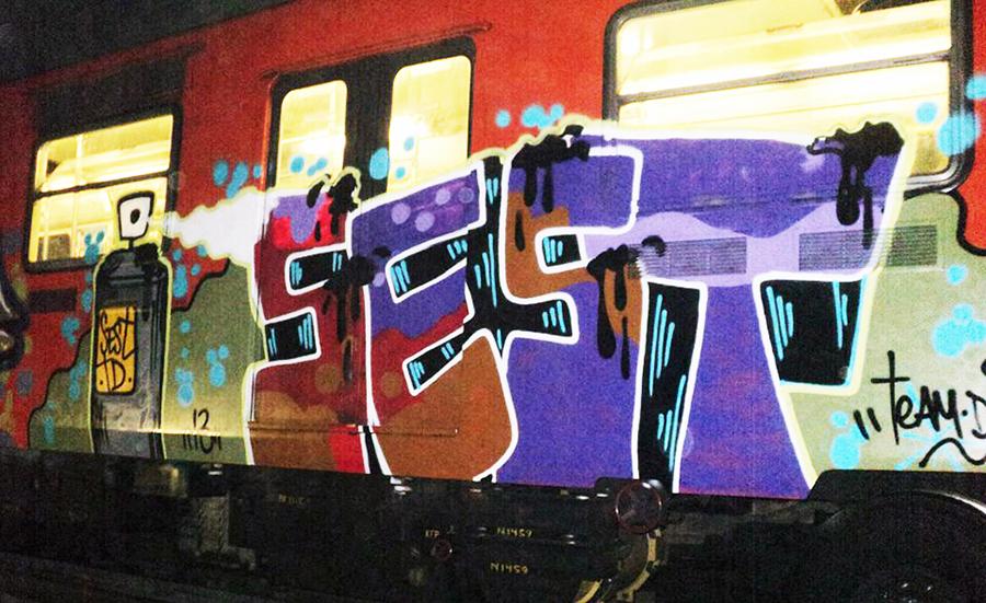 graffiti subway mexicocity sest teamdestructo