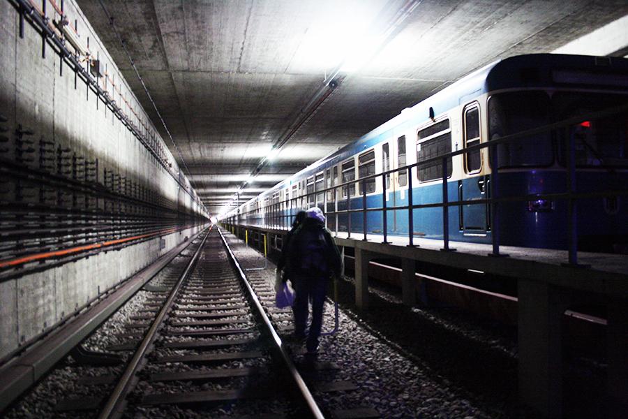 munich tunnel graffiti subway