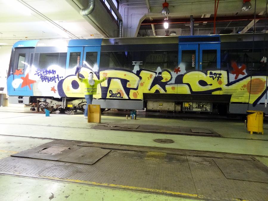 subway graffiti stockholm atl atls tunnelbana