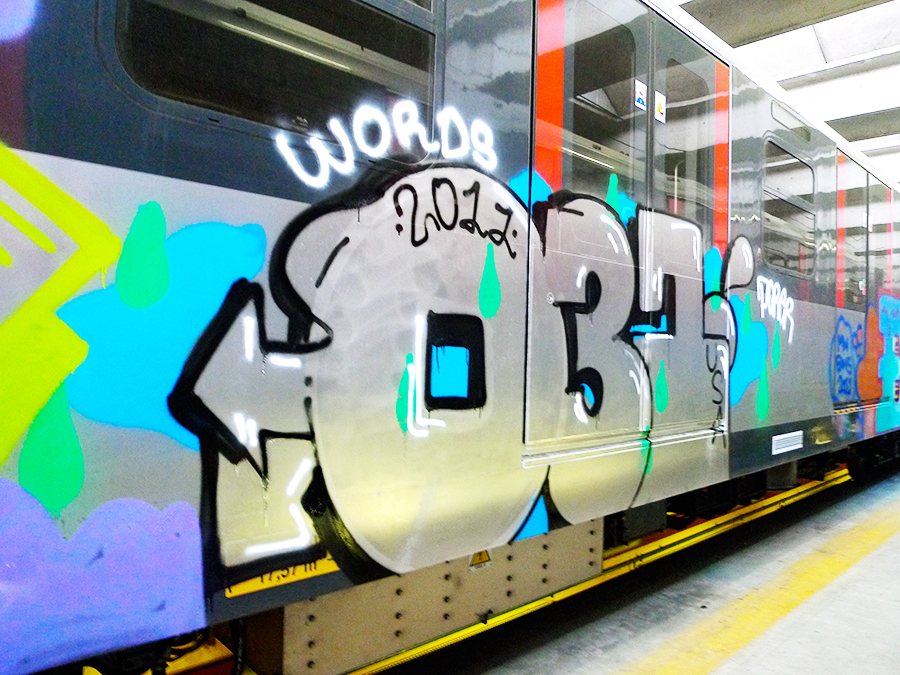 031 crew graffiti subway worldwide