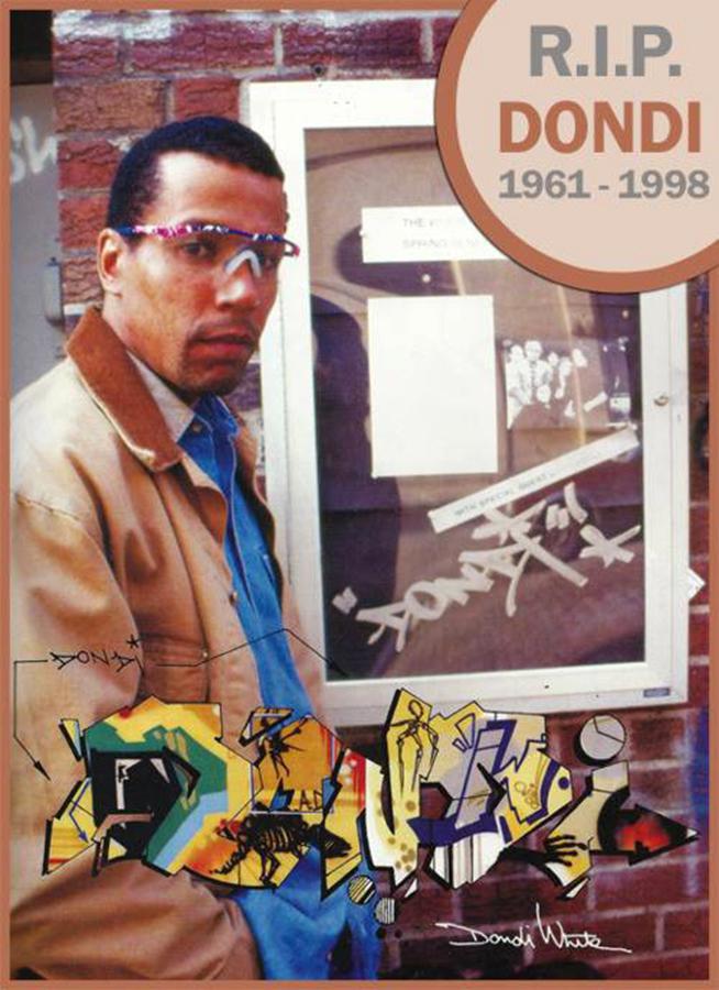 dondi cia graffiti legend newyork nyc 1961-1998 RIP