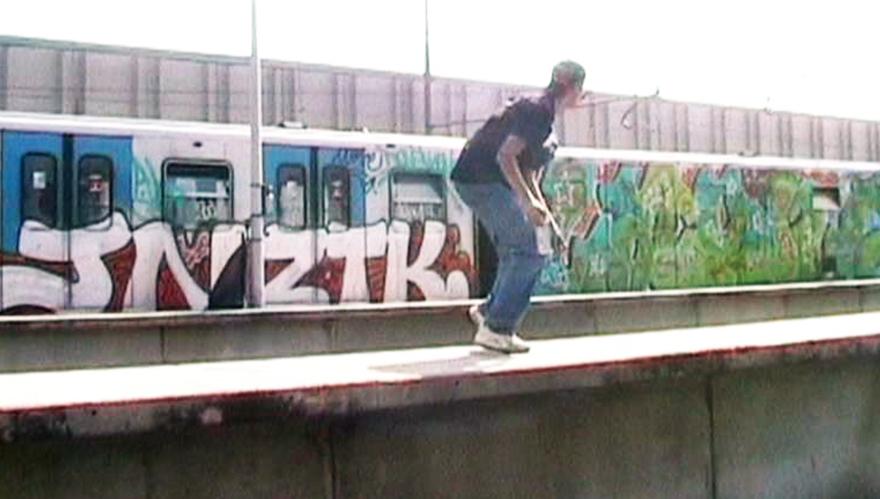 subway graffiti magliana  yard rome lash jon ztk