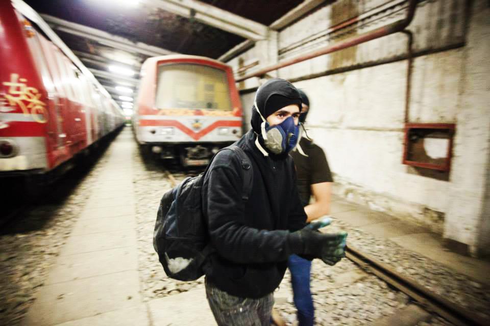bucharest yard graffiti subway