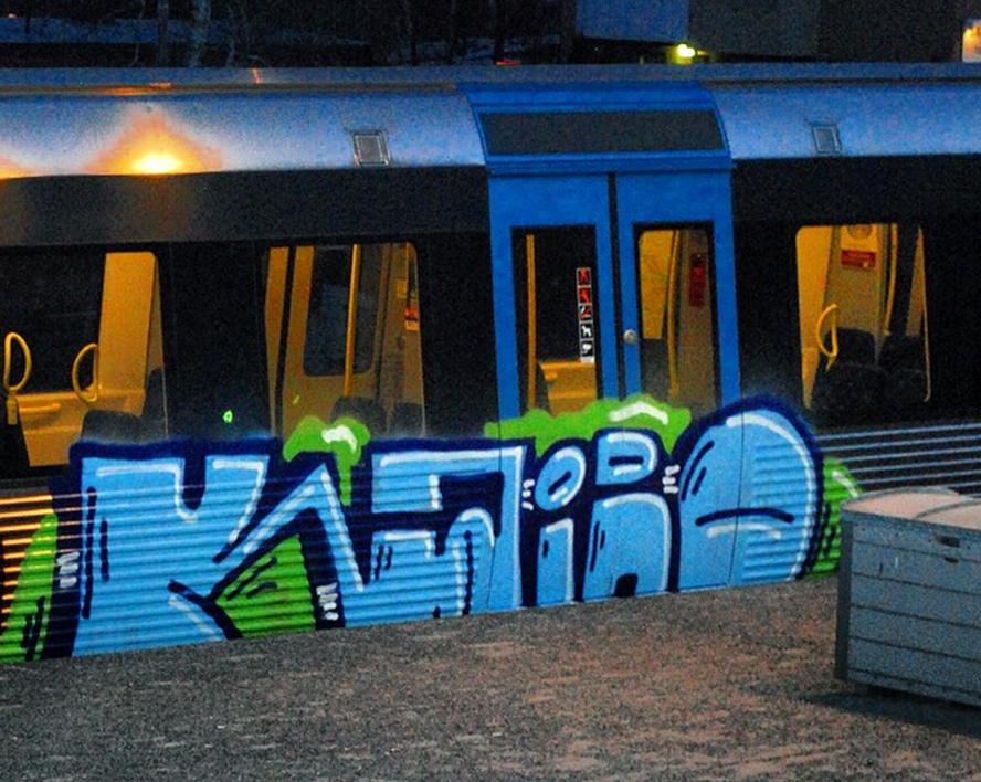 subway graffiti stockholm kairo tunnelbana