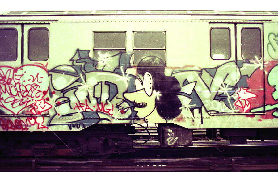 graffiti nyc subway oldschool legend don1