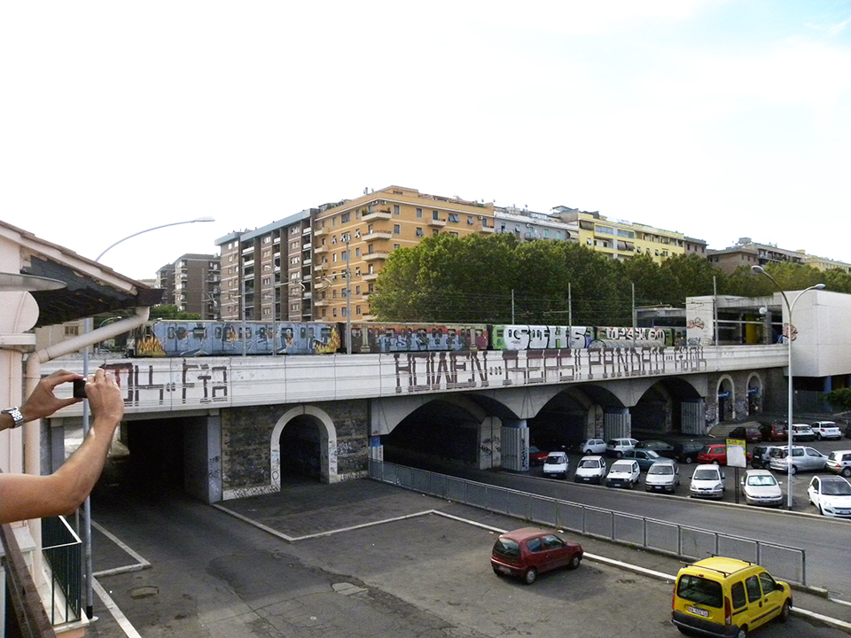 graffiti subway rome wholecar