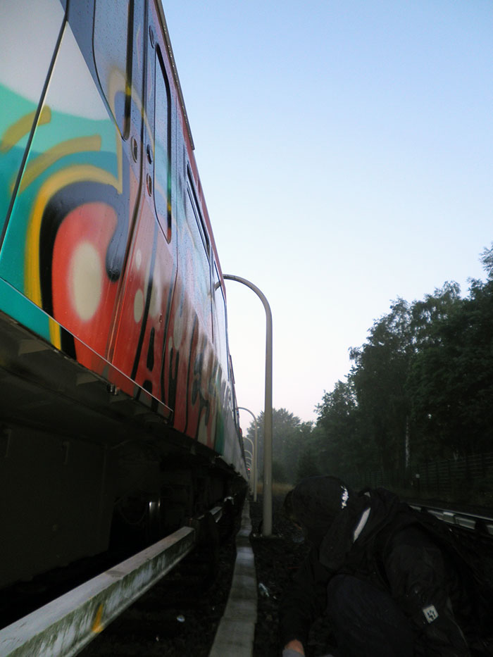 graffiti subway james hamburg