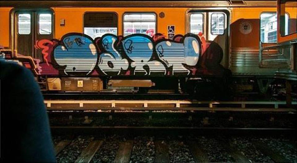 graffiti subway philadelphia usa dart 2013