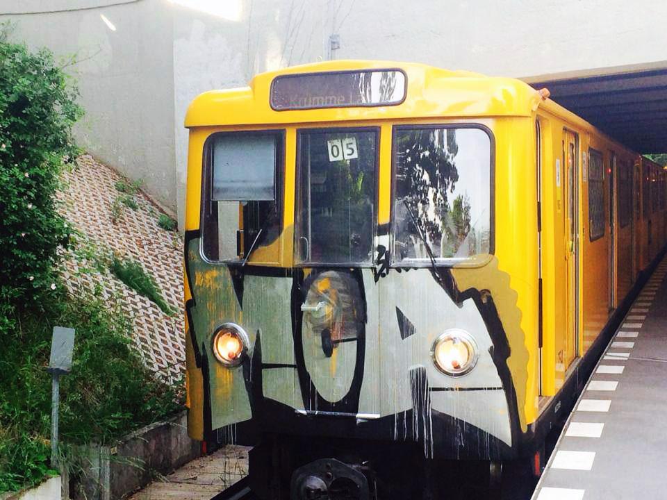 graffiti subway berlin germany bad moas trus