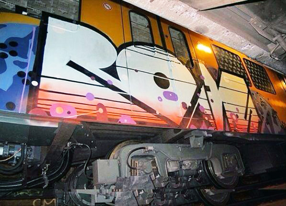 graffiti subway roids berlin germany