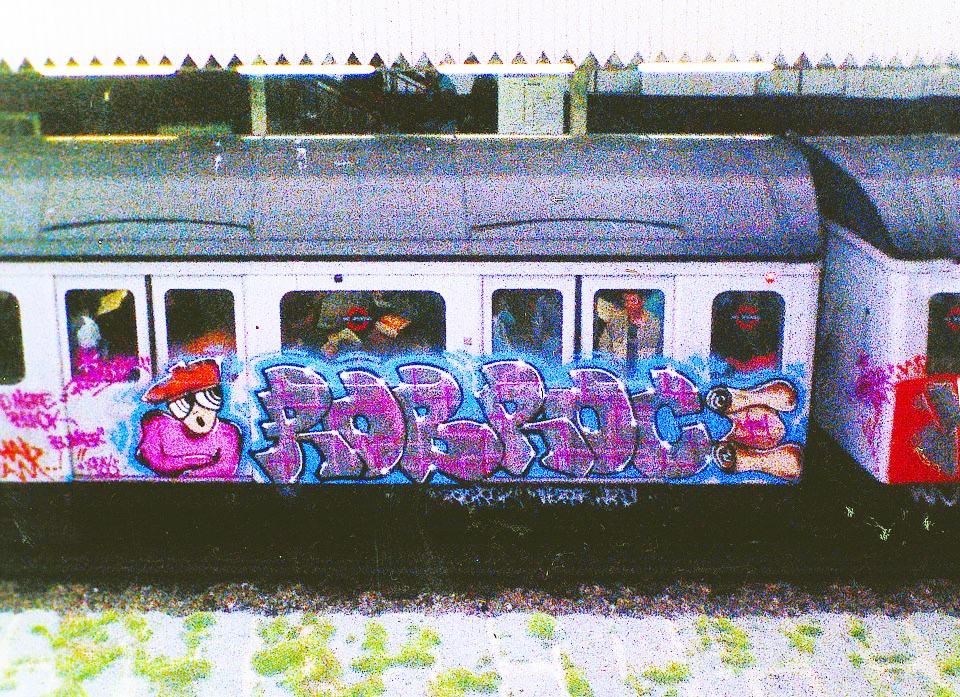 graffiti subway london 1988 tube underground kingrobbo rip