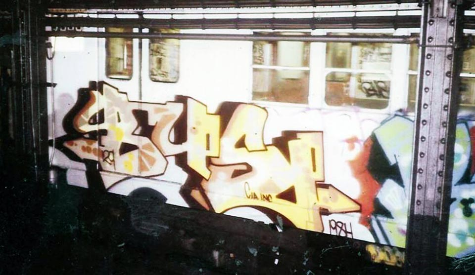 graffiti subway classic nyc newyork bus
