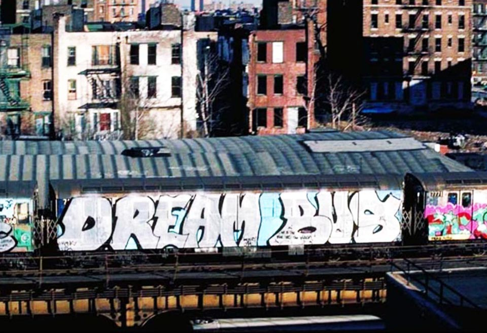 graffiti subway classic nyc newyork bus dream