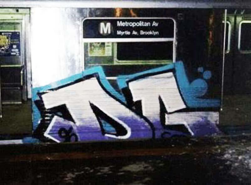 graffiti subway nyc newyork dg rip