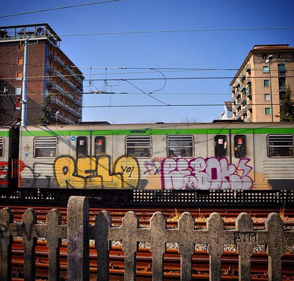 graffiti subway milan italy greenline running relo rebok pores 031