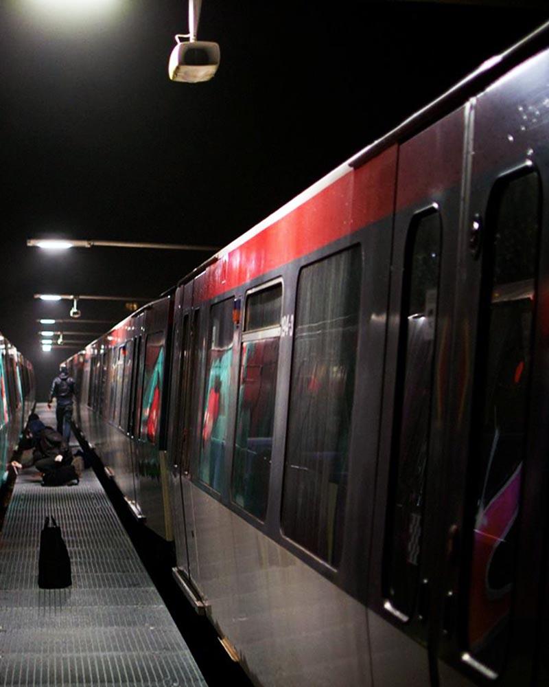 graffiti subway hamburg germany yard camera platform