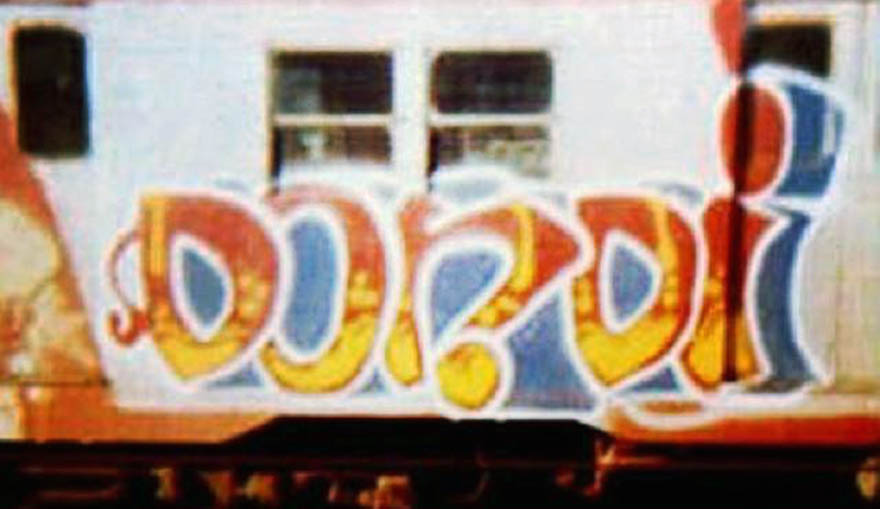 graffiti subway nyc newyork USA classics dondi