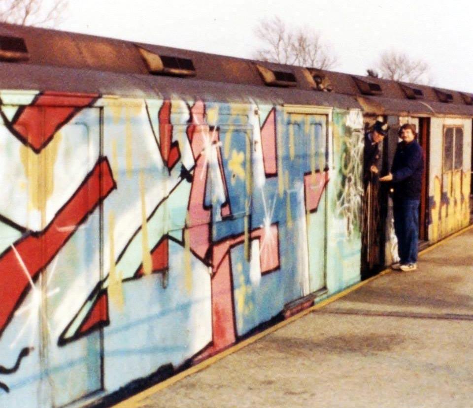 graffiti subway nyc newyork classic izzy t2b