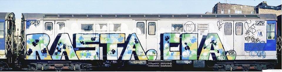 graffiti subway nyc newyork classic rasta cia