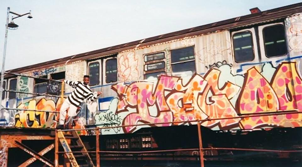 graffiti subway nyc newyork classic magoo