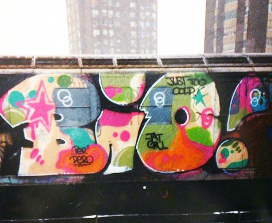graffiti subway nyc newyork classic bio t2b