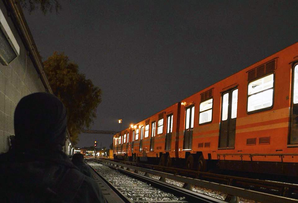 graffiti subway train mexicocity maxico