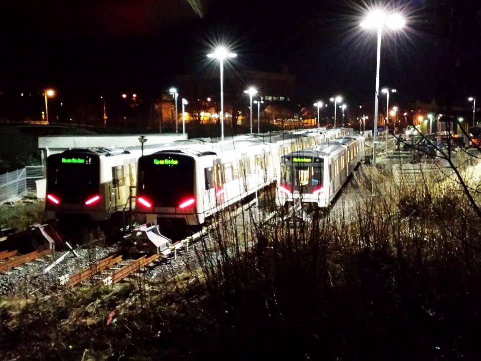graffiti train subway oslo norway yard