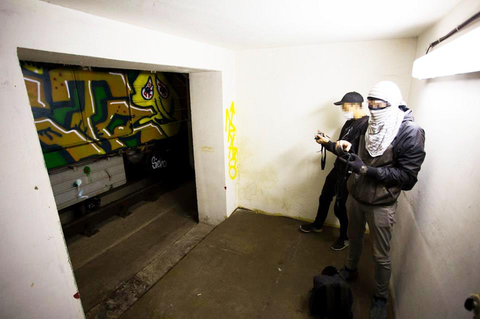 graffiti train subway 2016