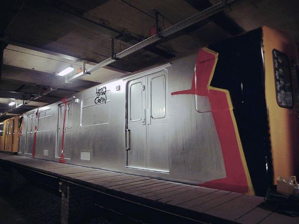subway graffiti train berlin germany hc wholecar 2016