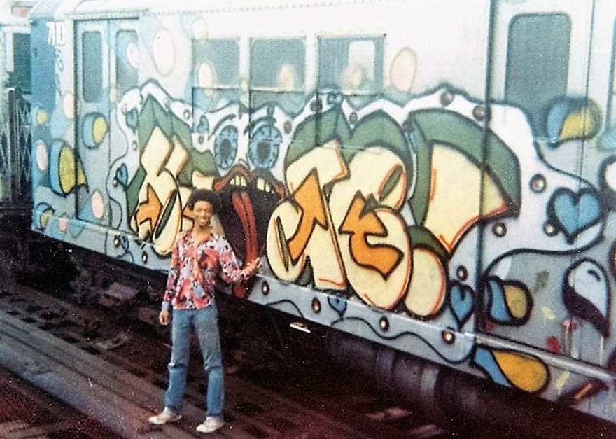 graffiti train subway nyc usa newyork blade