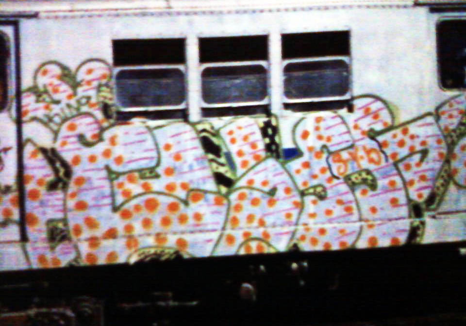 graffiti writing train subway nyc newyork classic usa cliff