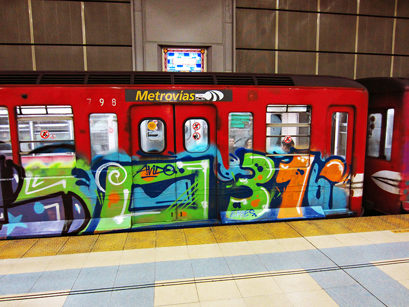 subte buenos aires subway graffiti 031 porno14 intraffic