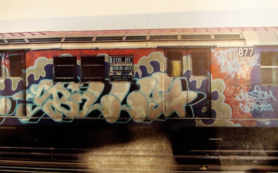 billy graffiti newyork subway